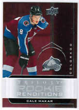 19/20 2019 UD TRILOGY HOCKEY ROOKIE RENDITIONS CARDS (RR-XX) U-Pick From List