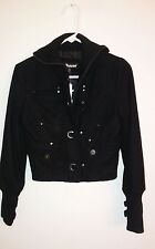 Black Winter Jacket (Dollhouse)  Size S