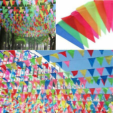 8M Long Giant Flag Bunting Garland Pennant Garden Party Fete Pub Decoration