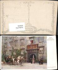 430426,Künstler Ak Ernst Graner Wien Hofburg Schweizertor Kutsche pub B.K.W.I. 2