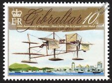 Henri Fabre LE CANARD (1910 First Seaplane) Aircraft Stamp (2010 Gibraltar)
