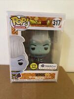 Funko Pop! Dragon Ball Super Whis #317 Glow In The Dark Galactic Toys Exclusive