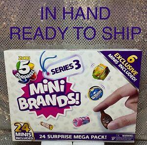 5 SURPRISE MINI BRANDS BY ZURU🎄 ADVENT CALENDAR 🎁 IN HAND READY TO SHIP