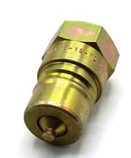 Parker 6602-12-12 Hydraulic Coupler Nipple (2 Available)