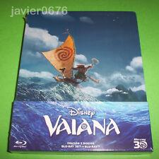 VAIANA CLASICO DISNEY 58 - BLU-RAY 3D + BLU-RAY NUEVO Y PRECINTADO STEELBOOK