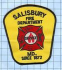 Fire Patch - Salisbury MD Since 1872