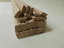 B261 10Stk 90cm Rechteckleiste Kiefer 3x8mm Vierkant Holzleisten
