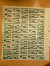 United States Scott 1091, the 3 cent Naval Review sheet of 50 stamps Mint