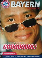 Programm 2000/01 FC Bayern München - Werder Bremen