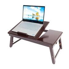 High Grade Breakfast Bed Tray Lap Desk Serving Table Foldable Legs Food Dinner