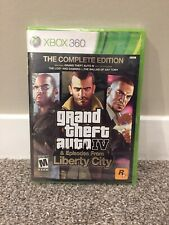 Grand Theft Auto IV -- Complete Edition (Microsoft Xbox 360, 2010) **SEALED**