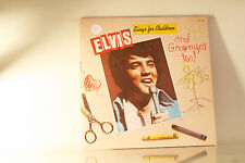 ELVIS PRESLEY - SINGS FOR CHILDREN - RCA 1978 GATEFOLD NEAR MINT VINYL LP A