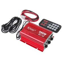 Mini Car Motorcycle MP3 Hi-Fi Stereo Audio Amplifier with Remote Control