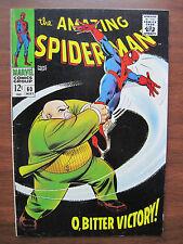 """AMAZING SPIDER-MAN"", NO.60, MAY. 1968 VERY FINE + CONDITION, ORIGINAL OWNER!"