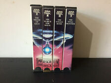 Star Trek Movie Widescreen Bundle 2 to 5 - Cut Carton VHS Tape - Wrath Of Khan