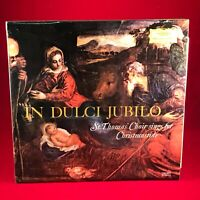 ST. THOMAS' CHOIR In Dulci Jubilo 1967 UK Vinyl LP Deutsche Grammophon BOYS xmas