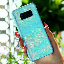 For Samsung Galaxy S8 S7 Colorful Leather Luxury Shockproof Slim Hard Case Cover