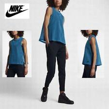 NWT $70 Sz. XL NIKE Women's Sportswear Tech Hyper-mesh Tank TOP Lined 846447-457