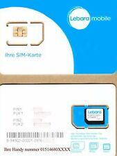 Lebara mobile Prepaid Simkarte