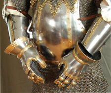 Get Dressed For Battle Gauntlets Set of two. Steel construction bordered with de
