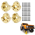 1/2Pairs Heavy Weight Front Rear Axle Brass Portal Cover for RC Redcat GEN8 Part