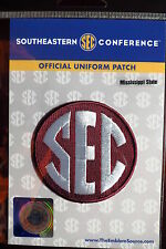 Official Licensed NCAA College Football Mississippi State SEC Conference Patch