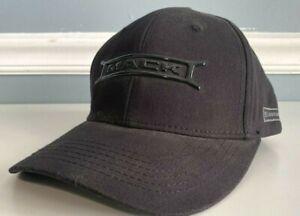 NEW Mack Trucks Liquid Black Mack Hat Bridge Cap w/Side Anthem Badge