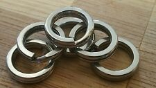 Stainless Steel 12mm split rings  rated up to 110kgs marine grade 40 pack!