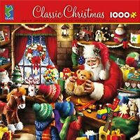 Classic Christmas - Santa's Workshop 1000 Piece Puzzle