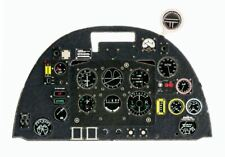 SPITFIRE MK.IX/XVI PHOTOETCHED, COLORED INSTRUMENT PANEL TO EDUARD ICM#4828 YAHU