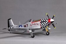 "FMS 800mm 31.5"" P51(V2)-BBD RTF RADIO CONTROL R/C AIRPLANE V2 RC PLANE NEW"