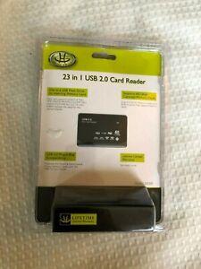 GEAR HEAD USB 2.0 ALL IN ONE ( 23 IN 1 ) CARD READER ( MODEL # CR 4200 ) NEW