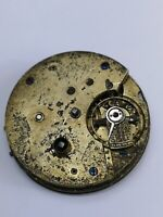 Vintage Swiss Made Pocket Watch Movement for Spares or Repairs (Y24)