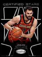 2018-19 PANINI CERTIFIED STARS KEVIN LOVE CLEVELAND CAVALIERS #CSR-6 INSERT
