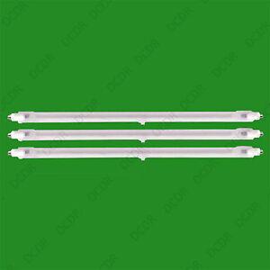 3x 400W Halogen Heater Replacement Tubes 195mm Fire Bar Heater Lamp Element Bulb