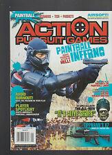 Action Pursuit Games Magazine Paintball January  2010 It's Alive Series