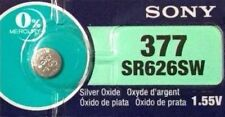 1 New SONY SR626SW Silver Oxide 1.55v Watch Batteries MADE in JAPAN Aussie Stock