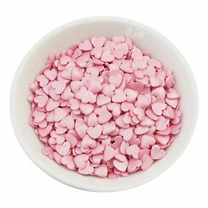 Streudeko Zuckerherzen - Rosa 50g