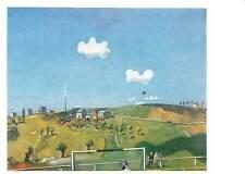 Painting drawings art Postcard Wolgang Mattheuer 1927 Sonntag