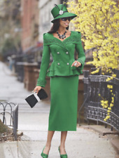 size 16 Brooke Skirt Suit green by Ashro new