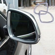 2X Außenspiegel Chrom Blende Rückspiegel Abdeckung Rahmen für BMW X5 X6 F15 F16