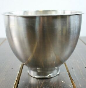 KitchenAid Classic K45 Stainless Steel Tilt-Head Mixing Bowl 6 QT