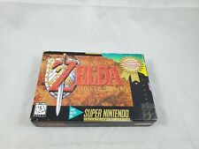 The Legend of Zelda: A Link to the Past SNES Complete in Box CIB Not Mint