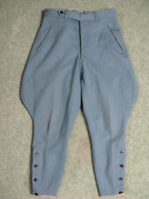 1965 60s German military police motorbike riding trousers jodhpur pants breeches