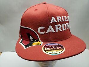 Arizona Cardinals New Authentic NFL Fitted FLEX Fit Hat Size 7 1/4 - 7 5/8 Cap