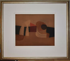 Listed Italian Artist Afro Basaldella Signed Large  Abstract Etching & Aquatint,