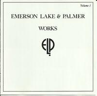 Emerson, Lake & Palmer – Works - Volume 1 Format: 2 × CD, Album, Reissue 1977