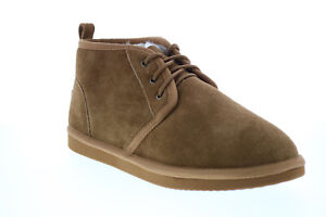 Lugz Sequoia MSEQUOS-7240 Mens Brown Suede Lace Up Chukkas Boots 11