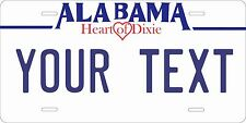 Alabama 1992 License Plates Tag Personalized Auto Car Custom VEHICLE OR MOPED