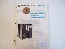 Allen-Bradley 1772-6.8.3 Programming & Operations Manual Plc-2/30 - Free Ship